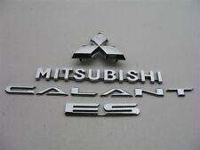 2002 2003 MITSUBISHI GALANT ES REAR CHROME EMBLEM LOGO BADGE SIGN SYMBOL 02 03 2