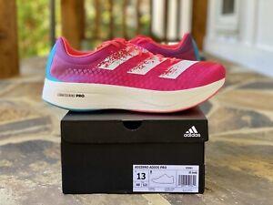 Adidas Adizero Adios Pro Running Shoe 13 Pink