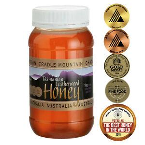Tasmanian Leatherwood Honey, 1kg, Cradle Mountain, Free shipping,