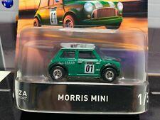2018 Hot Wheels 50th Retro Entertainment Forza Motorsport Morris Mini in Green.