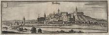Bernburg/Saale (Sachsen-Anhalt): Kupferstich, Merian, um 1690
