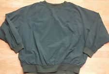 POLO Ralph Lauren GOLF Pullover Jacket XL  Green Nylon & mesh Lined EUC