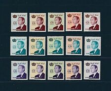 Maroc  série roi Hassan II   de 1982  num: 904/18  **
