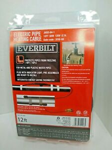 EVERBILT JHSD-84-1 12FT Electric Pipe Heating Cable 84W 120V-AC D633281