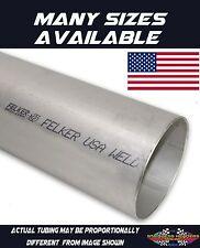 "304 Stainless Exhaust Header Tubing 1 Foot of 6"" Diameter  American Made"