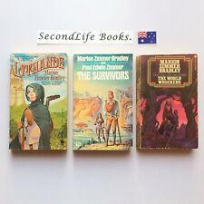 x4 Vintage DARKOVER Novels ~ Marion Zimmer Bradley. Sci Fi Fantasy.  Wreckers.