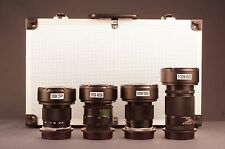 Set of 4 anamorphic flare lens 37mm,58mm,85mm,135mm for Canon Eos EF