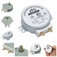 CW/CCW Microwave Turntable Turn Table Synchronous Motor TYJ50-8A7D Shaft 4RPM OP
