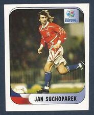 MERLIN-EURO 96 WITHDRAWN STICKER- #194-CZECH REPUBLIC-JAN SUCHOPAREK