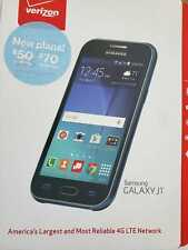 NEW Sealed in the box: VERIZON Samsung GALAXY J1 Blue 8GB Android PREPAID PHONES