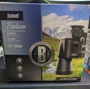 Bushnell 133450 Falcon 10x50 Wide Angle Binoculars - Black NEW