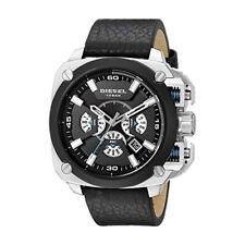 Diesel DZ7345 BAMF Chronographe Cadran Noire Bracelet En Cuir Noire Montre Homme