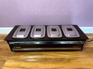 Vintage Philips HO392 Hostess Side Server Pyrex Dishes Plate Warmer Dinner Lunch