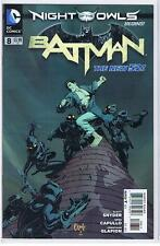 DC Batman #8 The New 52 Night of the Owls Capullo