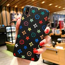 Bumper Case For Apple iPhone 11Pro Max X XR XS SE2 7 8 Plus Louis Flower Leather
