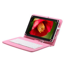 """iRULU eXpro X1Plus 10.1"""" Android 6.0 Tablet PC 16G/1G Quad Core w/ Pink Keyboard"""
