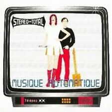 Stereo Total - Musique Automatique (Cherry Red) CD NEU