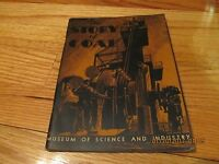 RARE 1933 THE STORY OF COAL- MUSEUM OF SCIENCE & INDUSTRY CHICAGO IL SC/IL/1ST
