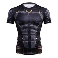 BATMAN JUSTICE LEAGUE COMPRESSION GYM SHIRT LIKE UNDER ARMOUR ALTER EGO