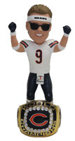 Jim McMahon (Chicago Bears) 1985 Super Bowl Champ Ring Base Bobblehead Exclusive
