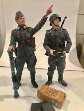 Dragon Did Soldier Story 1:6 Scale Wwii German Luftwaffe Flak Officer & Gunner