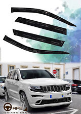 For Jeep Grand Cherokee 11-18 Deflector Window Visors Guard Vent Weather Shield
