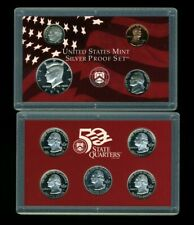 1999 S United States Mint Silver Proof Set w/Box & CoA