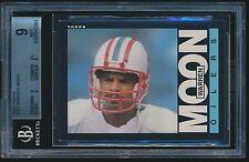 1985 Topps rc #251 Warren Moon BGS 9 Mint