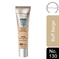 Maybelline Dream Urban Cover SPF50 All-In-One Protective Makeup, 130 Buff Beige