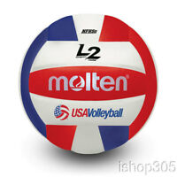 Molten Premium Competition L2 Volleyball, NFHS Approved IVU-3-HS Official Size