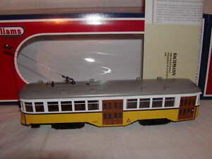 Williams by Bachmann BAC 23910 San Francisco Peter Witt Streetcar O MIB New 2011