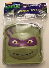 Teenage Mutant Ninja Turtles  Sandwich Sav'r DONATELLO Lunches Lunch Box Snacks