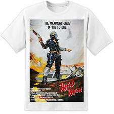 Mad Max Movie Poster camiseta de estilo vintage y retro-Road Warrior (S-3XL) Mel Gibson
