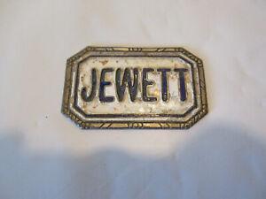 Jewett 1923-1926 Car Radiator Emblem
