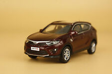 1:43 China soueast - motor DX7 dark red color suv model