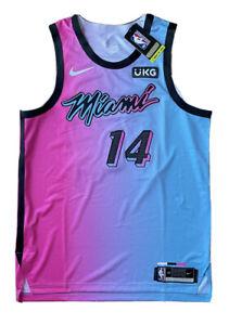 Nike NBA Tyler Herro Miami Heat Vice City Edition VaporKnit Authentic Jersey 48
