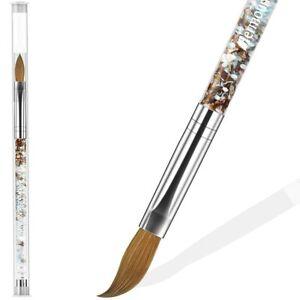 Kolinsky Acrylic Brushes Professional Acrylic Nail Brush # 10