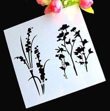 Rara Flora Grass Layering Stencil Template DIY Scrapbooking Home Bar Decoration