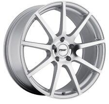 18x9 TSW Interlagos 5x114.3 +32 Silver Rims Fits 350z G35 Nissan Rx8 Rx7