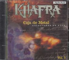 Khafra Caja De Metal Enterrados En Vivo Vol 1 CD NewNuevo Sealed