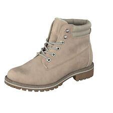 Jane Klain Damen Schuhe 252 246 Winter Stiefel Boots Schnürer gefüttert Rosa NEU