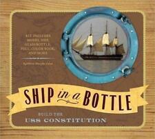 Metro Books Ship In A Bottle USS Constitution Model Kit New
