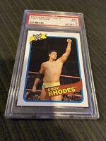 2007 WWE Heritage III #40 Cody Rhodes PSA 9 Rookie Card Pop 1 Of 1!