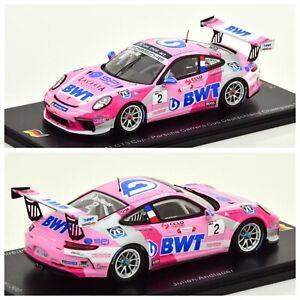 1/43 Spark Porsche 911 GT3 Cup N°2 Carrera Cup Deutschland Shipping Home