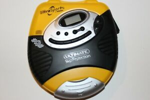 Audiophase Ultra Sports DM9915 Portable CD Player Tested Working
