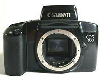 Canon EOS 100 SLR 35mm Film Camera Black UK Fast Post