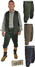 Stretch-Cord rodilla federal pantalones wanderhose pierna-y cuchillos bolso Hubertus en 3 colores