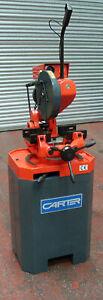 New CARTER 350mm Circular Chop Saw Cut Off Saw Sawing Machine Sheet Metal