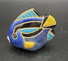 Artesania Rinconada #302 Retired Blue Tang Tropical Fish Rare One of a Kind