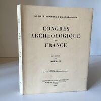 Congresso Archeologico Di Francia 127e Session 1969 Modena